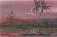 riverscape by romeo v. tabuena