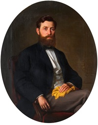 portrait of a man by ivan nikolaevich kramskoy