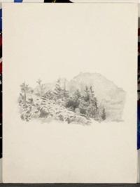paysage (les regressions) by gérard gasiorowski