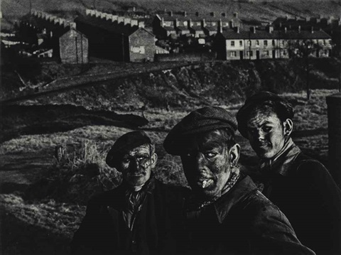 welsh miners by w. eugene smith