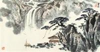 观涛图 by liu baochun
