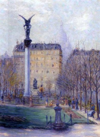 paris au jardin public by rudolf quittner