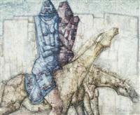 deux cavaliers by jef van tuerenhout