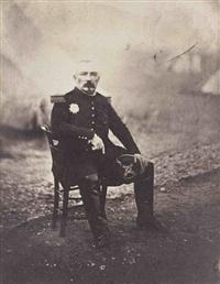(guerre de crimée). général bosquet by roger fenton