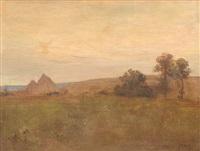 romantic landscape by edmond françois aman-jean