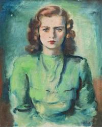 portrét marie chválové by frantisek naske