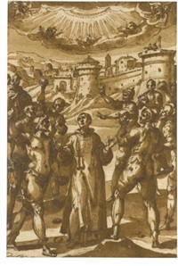 martyrdom of st. stephen by avanzino nucci