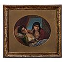 orientalist portrait of two women by r. st. ledger pigot