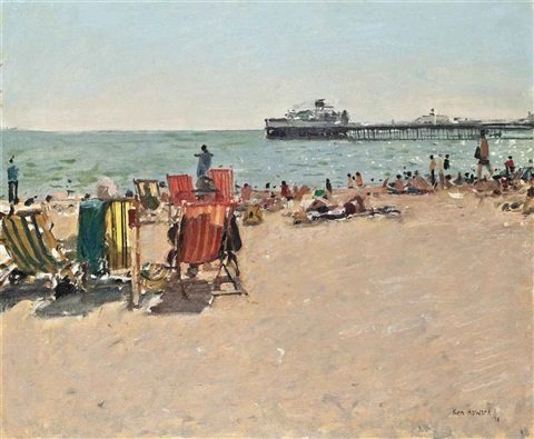 deck chairs by ken howard