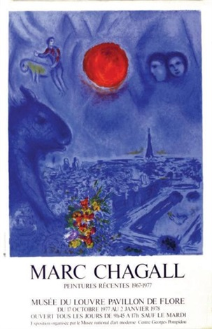 marc chagall peintures récentes 1967 1977 by marc chagall