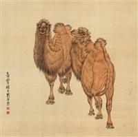 双骆驼 by liu kuiling