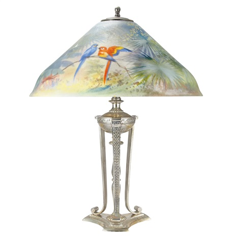 Parrot Lamp By Pairpoint
