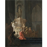 the idolatry of solomon by willem de poorter