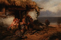 the fisherman's return by francis montague (frank) holl