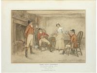 three jovial huntsmen by john sanderson-wells