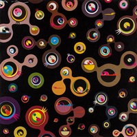 jellyfish eyes by takashi murakami