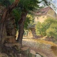 haus am waldbach by eduard steinbruck