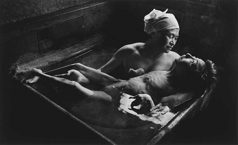 tomoko in her bath minamata by w eugene smith