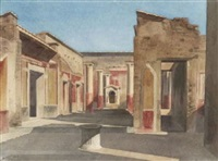 partie in pompeji by gabriel auguste ancelet