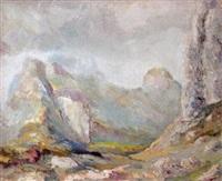 berglandschaft by otmar antonio janecek