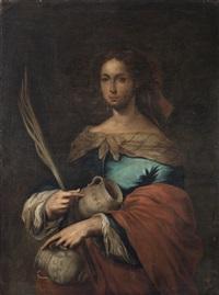 santa rufina by juan simon gutierrez