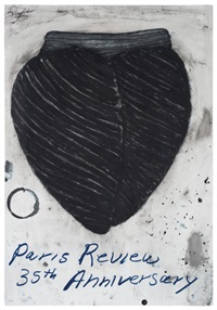 paris review 35th anniversary by terry winters