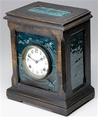 tile clock (clockface by new haven clock co.) by j. & j. g. low