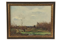 early spring, needham by charles curtis allen