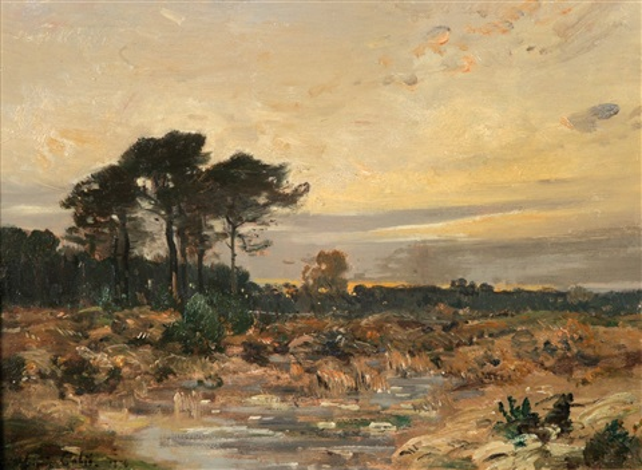 moorlandschaft by louis alexandre cabié