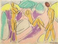 badende by alfred lehmann