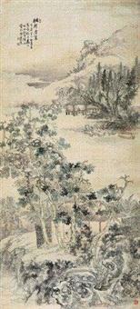 桐轩消夏 by hu tiemei
