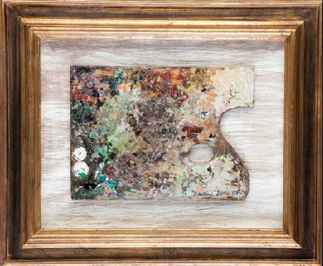 paleta de pintor by antonio lópez garcía