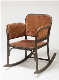 Thonet auction results thonet on artnet for Schaukelstuhl thonet