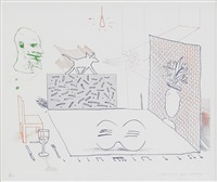 discord merely magnifies by david hockney