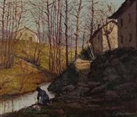 donna al fiume by giuseppe colonello