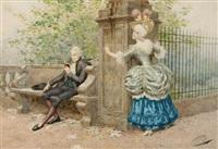 flirtation by giuseppe aureli