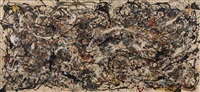 this is not a pollock (number 18a, 1948) by mike bidlo