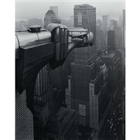 from the chrysler building, n.y by george tice