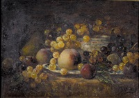nature morte aux fruits by françois vernay