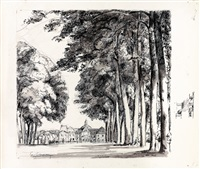 le songe de vaux & élégie pour m. fouquet (bk by la fontaine w/2 works) by eugene louis corneau