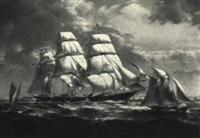 the pilot boat araeomedes by robert trenaman back