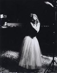 claudia schiffer, la nuit by karl lagerfeld