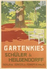 gartenkies/schüler & heilgendorff by friedrich carl georg (fritz) rumpf