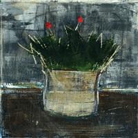 flowerpot by salah alkara