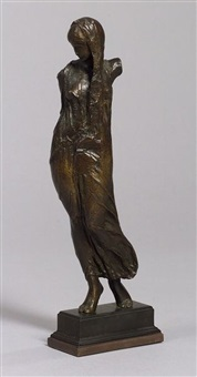 draped figure by mario korbel