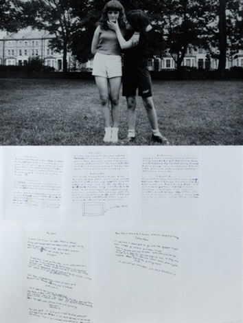 melanie and kelly by gillian wearing