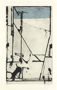 passage 1 by richard diebenkorn