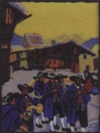 dorfkonzert by robert a. saurwein