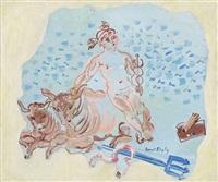 scène mythologique by raoul dufy