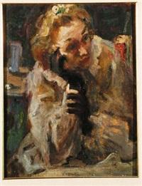 ritratto di donna by gianni vagnetti